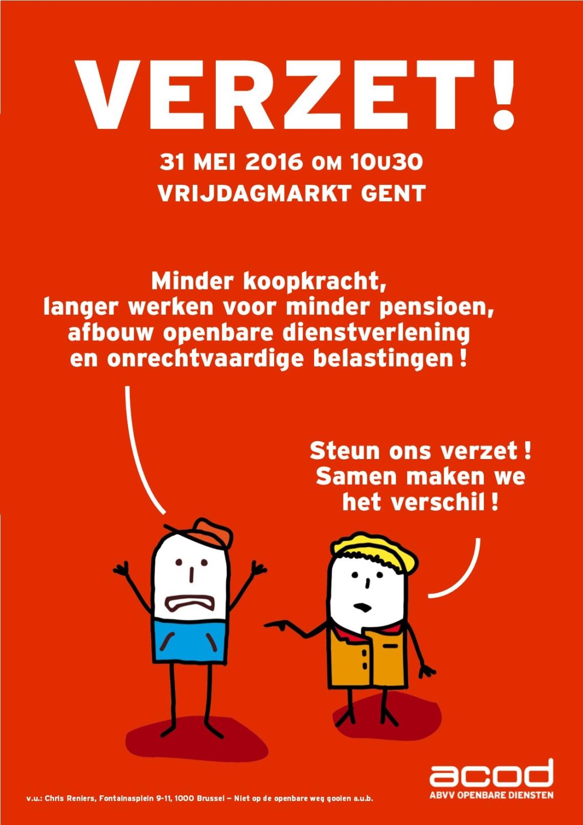 Verzet - affiche actie 31 mei 2016 Gent.jpg
