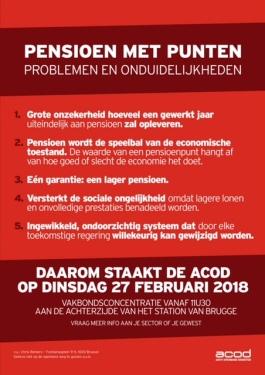 Affiche staking 27 februari Pensioen met punten - A4 v