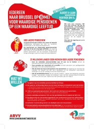 Pamflet ABVV actie 16 mei PRINT
